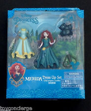 DISNEY Parks FIGURE FASHION Set MERIDA Cake TOPPER Play SET In Box NEW