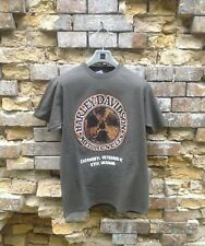 CHERNOBYL Harley Davidson MC t-shirt with pin Size L