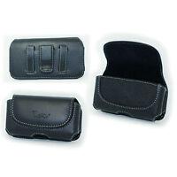 Leather Case Pouch Belt Holster Clip for ATT/Verizon/Sprint Apple iPhone 5 5S 5C