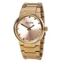 Nixon A160897 Gent's The Cannon Rose Gold Dial Quartz Watch