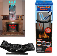 FIREPLACE CHIMNEY DRAFT DRAUGHT EXCLUDER STOPPER BLOCKER SAVE ENERGY COSTS ECO