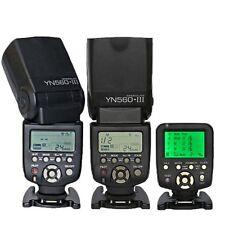 Yongnuo 2 x YN-560 III Wireless Flash + YN-560-TX N Controller For Nikon D7