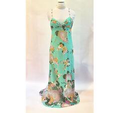 Tibi    Silk & Cotton Long Floral Gown – Size 4