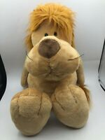 Large NICI Lion Plush Kids Soft Stuffed Toy Animal Doll Wild Brown Teddy Bear