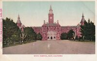 1900s Postcard - State Hospital Napa, California Building View Undivided Back