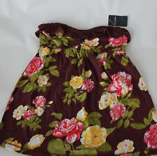 ABERCROMBIE KIDS GIRLS FLORAL STRAPLESS TANK TOP SIZE MEDIUM NEW !!