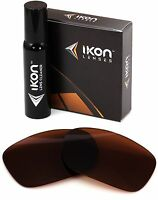 Polarized IKON Replacement Lenses For Oakley Twoface Sunglasses Bronze/Brown
