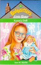 Karen's Doll (Babysitters Little Sister), Martin, Ann M., Very Good Book