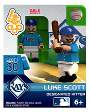 Luke Scott OYO MLB Tampa Bay Rays Mini Figure NEW G2
