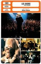 LES DOORS - Kilmer,Ryan,MacLachlan,Stone (Fiche Cinéma) 1996 - The Doors