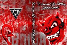 DVD LIVORNO-MILAN  2006/2007--CURVA SUD MILANO,AC MILAN 1899,BRN,FDL,CT,ULTRAS
