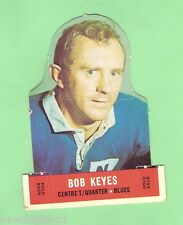 #D177. 1969 SCANLENS RUGBY LEAGUE DIECUT CARD - BOB KEYES, NEWTOWN, CREASE