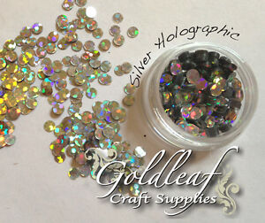 Nail Art Glitter Studs sequin discs dots 3mm