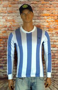 Adidas Originals Argentina 80s Soccer Jersey Long Sleeve Diego Maradona Messi
