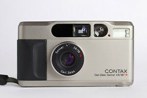 Contax T2 mit Zeiss Sonnar 2,8/38 T* Topp Zustand A+ in Mint Condition