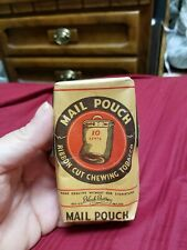 Vintage Mail Pouch Ribbon Cut Chewing Tobacco Block Brothers Free Sample Package