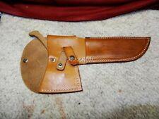 RARE Case XX Knife Hatchet Combination Set Leather Carry Belt Sheath Kabar 1940s