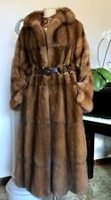 FENDI Russian Barguzin SABLE Fur Sobol Zobel Coat Pelz Mink Lynx fox Zibellino M