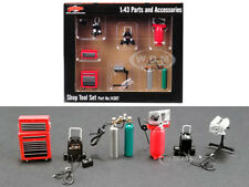 SHOP TOOLS  #1 SET OF 6 PIECES 1/43 MODELS BY GMP 14307