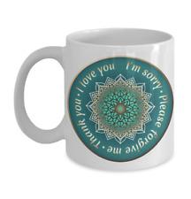 New listing Oh Oponopono Mantra Mandala mug Ho Oponopono Art