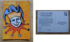 Carte postale flyer programme des Francofolies de 1997, collector