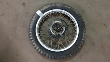 1978 yamaha dt250 dt enduro Y559~ rear wheel rim w 47 sprocket alloy aluminum 18