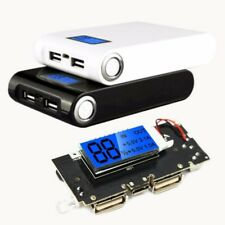 5V 2.1A Dual USB Power Bank 18650 Battery Charger PCB LCD Display DIY for phone