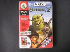 Leap Frog LeapPad 2nd Grade Reading Shrek 2 Case, Storybook & Cartridge