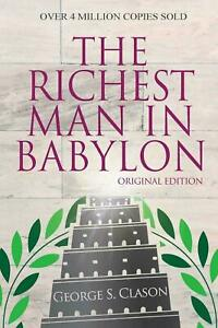 The Richest Man In Babylon - Original Edition by George S Clason BOOK   NEW AU