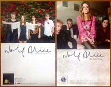 WOLF ALICE My Love Is Cool | Creature Songs 2 Ltd Ed Posters +FREE Indie Poster!
