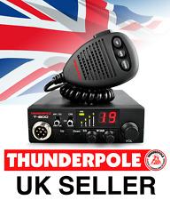 Thunderpole T-800 12v CB Radio | 27MHz AM/FM transmisor-receptor de 12 voltios móvil