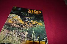 John Deere 310D Backhoe Loader Dealers Brochure DCPA4 ver2