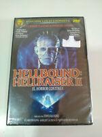 Hellraiser II Hellbound Ed Coleccionista - 2 x DVD + Extras Nuevo