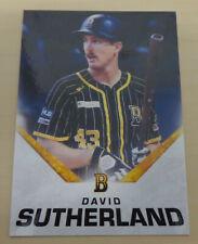 2019/20 Brisbane Bandits (Australian Baseball League) DAVID SUTHERLAND Card