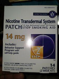 Habitrol Step 2 Nicotine  Transdermal system 14mg 14 Patches -