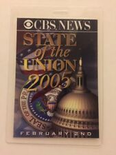 2005 President George Bush State of the Union Address to Congress CBS PRESS PASS
