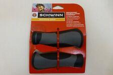 NEW Schwinn Ergonomic Ultimate Comfort Grips Bike Bicycle Handlebar Black & Gray