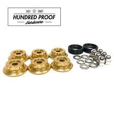 HUNDRED PROOF HARDWARE K Series Valve Cover Hardware K20 K20a K24 K24a2  [Gold]