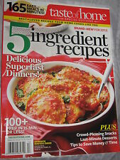 Taste of Home Magazine Cookbook Special Edition 5 Ingredient Recipes 2013 #12