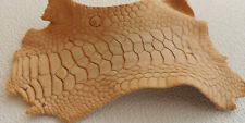 Natural Tan Chicken Leather