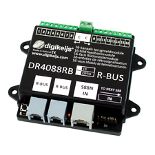 DIGIKEIJS DR4088RB-CS 16 CHANNEL OCCUPANCY FEEDBACK FOR ROCO - R-BUS & S88(N)