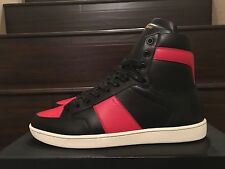 Authentic YSL SLP Yves Saint Laurent SL/10H SZ 41.5 OG ALL SNEAKERS BRED Banned