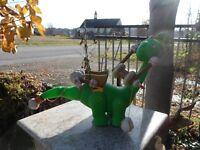 Little Tikes B.C. Builders Green Dinosaur Crane Brontosaurus Apatosaurus Works
