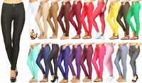 Women's Cotton Blend Full Length Jeggings Stretchy Skinny Pants Jeans Leggings