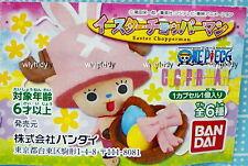 One Piece Easter Chopperman Mini Figure Strap Mascot 6pcs - Bandai Gashapon  h#a