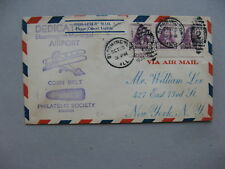 USA, airmail cover 1934, Bloomington to New York,. ill. corn belt