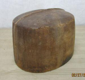 "Vintage Size 7  ""Optimo ""  Shaped Hat  Block"