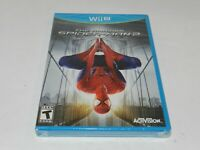 The Amazing Spider-Man 2 Nintendo Wii U Original Game Brand New Factory Sealed