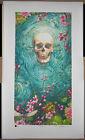 AJ Masthay Ripple Giclee Print Grateful Dead Poster Signed Skull Terrapin #/350