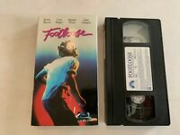 1984 Footloose VHS Video Tape Kevin Bacon